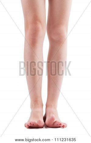 Bare Feet Of Man