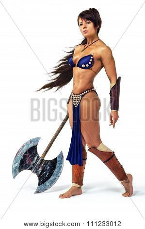 Warrior - Woman With An Axe