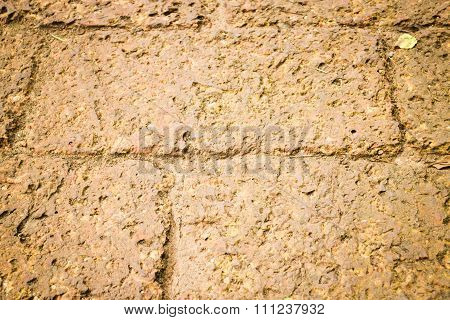 Dry Laterite Floor Texture Background