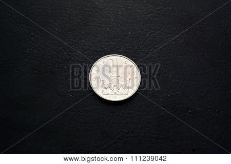 Czech money -  1 krona (2000 year)