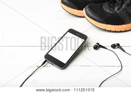 Running Shoes And Phone