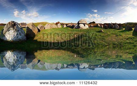 Stone Age Grave Burial Site
