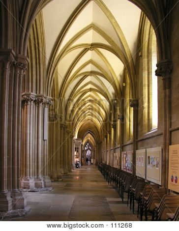 Cathedral Aisle