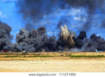Aviation Bomb Strike