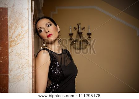 Glamour Women In Evening Dresses