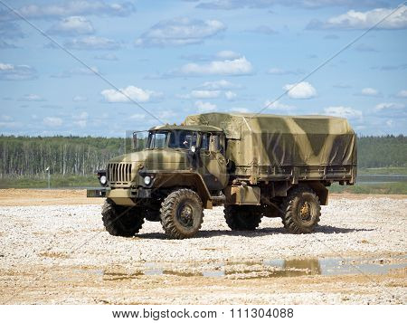 Military truck Ural 4320
