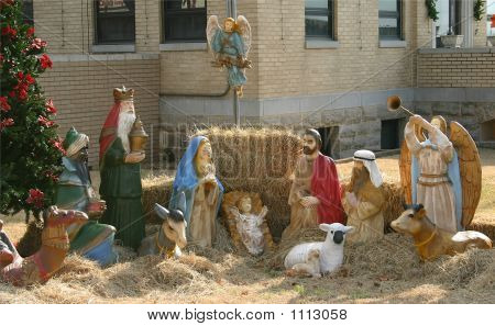 Nativity Setting