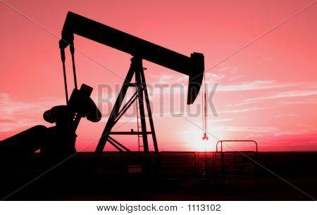 Oil Field Pump Jack 6