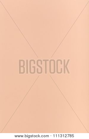 Peachy Colored Vertical Sheet Of Paper
