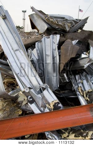 Twisted Metal From Destroyed Building