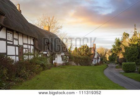 Welford on Avon Village, Warwickshire