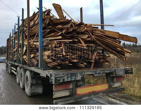 transportation of wood