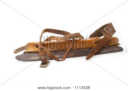 Antique Ice Skate Sepia