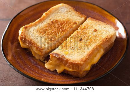 grilled cheese sandwich for breakfast