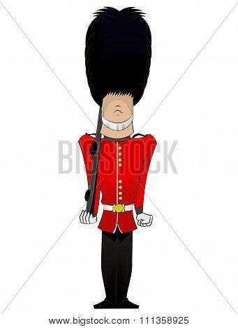 Queen  Soldier Illustration