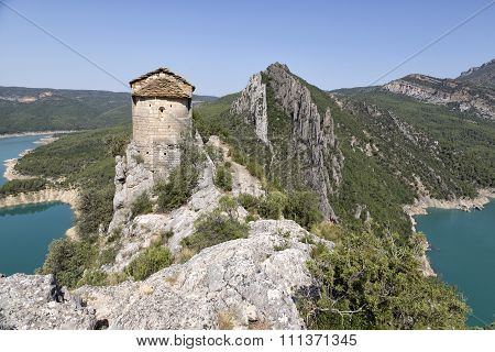 Roman church of the Pertusa, Lleida, Spain