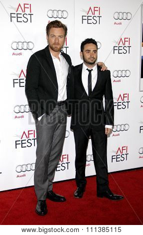 Ewan McGregor and J.A. Bayona at the 2012 AFI Fes Special Screening of