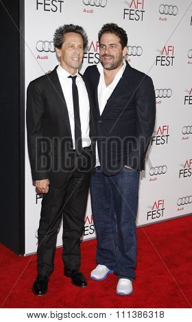 Brian Grazer and Brett Ratner at the AFI Fest 2011 Opening Night Gala World Premiere Of