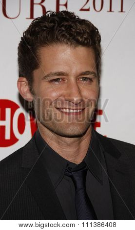 Matthew Morrison at the Taste for a Cure held at the Beverly Wilshire Hotel in Beverly Hills, California, United States on April 15, 2011.