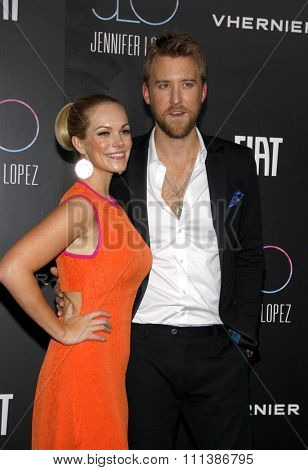 Charles Kelley of Lady Antebellum at the JLO's Private party after the AMA's held at the Greystone Manor Supper Club in West Hollywood, California, United States on November 20, 2011.