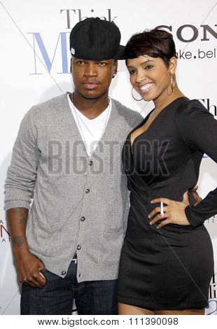 Ne-Yo at the Los Angeles Premiere of