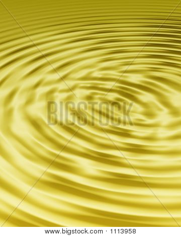 Gold Ripples Full Frame