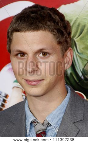 Michael Cera at the Los Angeles Premiere of
