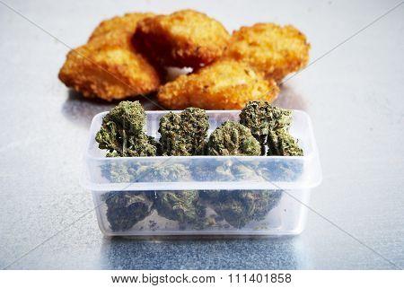 Munchies, Marijuana And Eating Junk Food