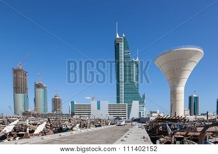 Manama Financial Harbour, Bahrain