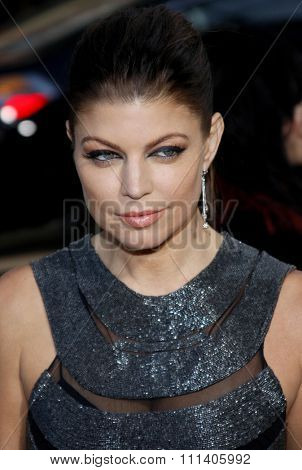 28/4/2009 - Hollywood - Fergie of Black Eyed Peas at the Los Angeles Premiere of