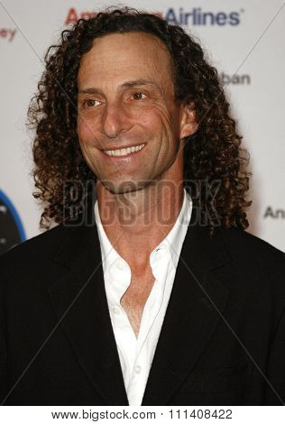 Kenny G attends the National Kidney Foundation of Southern California's 28th Annual Gift of Life Celebration and Award Dinner held at the Warner Bros. Lot in Burbank, California on April 29, 2007.