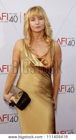 Rebecca De Mornay attends the 35th Annual AFI Life Achievement Award: a tribute to Al Pacino held at the Kodak Theatre in Hollywood, California on June 7, 2007.