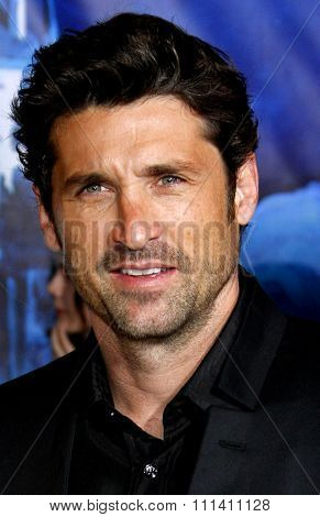Patrick Dempsey attends the World Premiere of