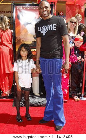 Wayne Brady attends the Los Angeles Premiere of