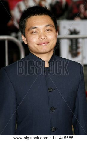 Shaobo Qin attends the Los Angeles Premiere of