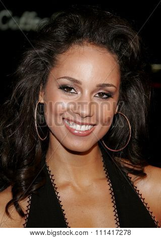 Alicia Keys attends the World Premiere of