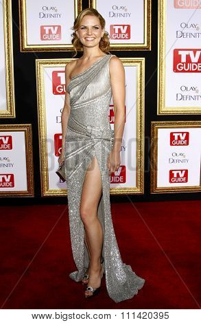 Jennifer Morrison attends the 5th Annual TV Guide's Emmy Awards Afterparty held at the Les Deux in Hollywood, California, United States on September 16, 2007.