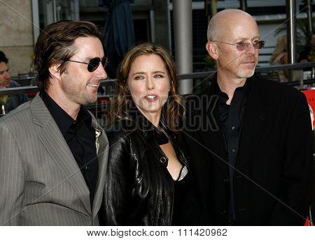Luke Wilson, Tea Leoni and John Dahl attend the Los Angeles Premiere of