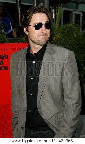 Luke Wilson attends the Los Angeles Premiere of