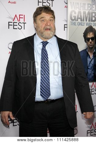 John Goodman at the AFI FEST 2014 Gala Premiere of 'The Gambler' held at the Dolby Theatre in Los Angeles on November 11, 2014 in Los Angeles, California.