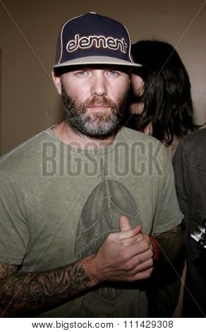 10/13/2006 - Hollywood - Fred Durst attends the Los Angeles Premiere of