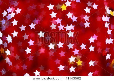 Defocused Star Background (bokeh)
