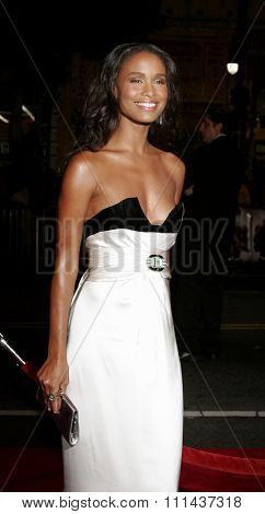 November 3, 2005 - Hollywood - Joy Bryant at the Paramount Pictures'