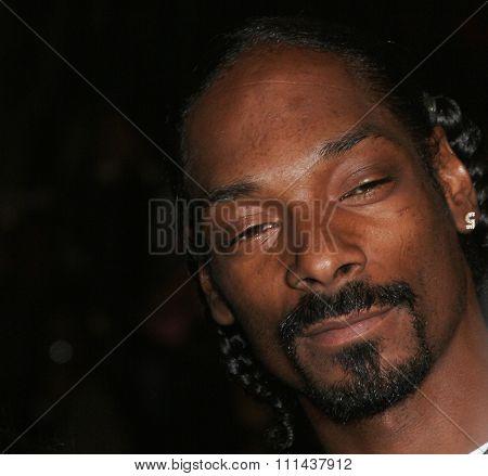 Snoop Dogg at the