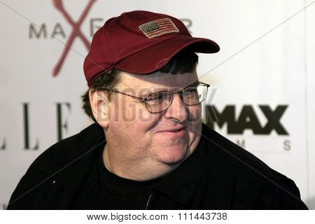 Michael Moore at the