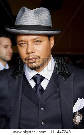HOLLYWOOD, CALIFORNIA. Wednesday April 30, 2008. Terrence Howard attends the Los Angeles Premiere of