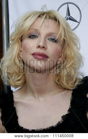 06/10/2006 - Bel Air - Courtney Love attends the Chrysalis' 5th Annual Butterfly Ball  held at Italian Villa Carla and Fred Sands in Bel Air, California, United States.