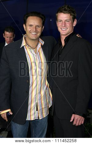 Mark Burnett at the WB Television Network's All-Star Summer TCA Party held at the Pacific Design Center in West Hollywood, USA on July 14, 2004.