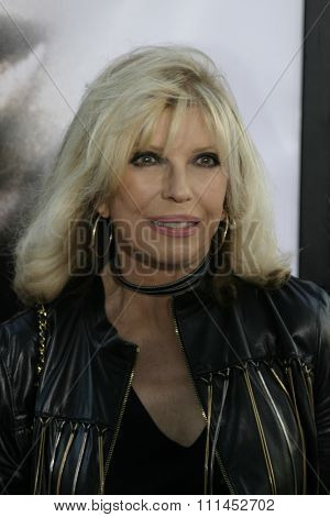 Nancy Sinatra at the Los Angeles premiere of