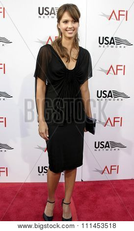 10 June 2004 - Hollywood, USA - Jessica Alba. 32nd AFI Life Achievement Award: A Tribute to Meryl Streep at the Kodak Theatre, Hollywood & Highland.